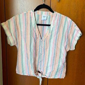 GAP Linen button up shirt